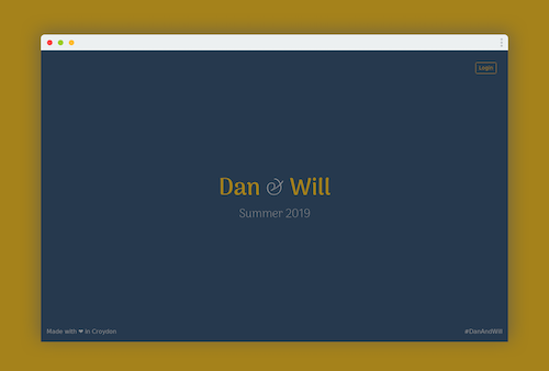 Dan & Will - theme for a palatial wedding